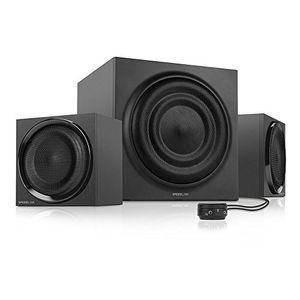 Angebote für -speedlink majesty aktives 21 lautsprechersystem 45 watt rms gesamtleistung 90 watt peak power tischfernbedienung holzgehäuse schwarz