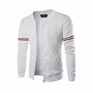 Angebote für -herren jacke daylinherbst winter dekoratives band freizeitjacke kragen männer lässiger mantel m weiß