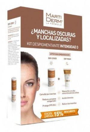Reseña KIT DESPIGMENTANTE MANCHAS OSCURAS (DSP-COVER+DSP MASK) comparación