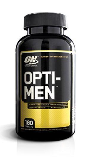 ofertas para - optimum nutrition opti men multivitamin capsules pack of 180