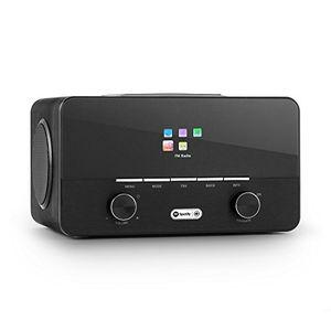 photos of Auna Connect 150 BK • Internetradio • Digitalradio • WLAN Radio • Netzwerkplayer • LAN • DAB / DAB+ / UKW Tuner Mit RDS • USB • AUX • Breitbandlautsprecher Kaufen   model CE