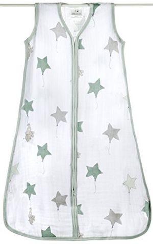ofertas para - aden anais up up away saco de dormir de verano para bebés talla s xl muselina de algodón talla s