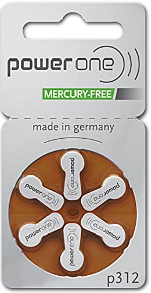 ofertas para - 60x baterías varta powerone p 312 para aparato auditivo pr41 180 mah 14v