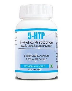 5HTP por salud primera máxima fuerza en mercado 250mg 60Cápsulas supresor de apetito con Estado de ánimo, estrés, y apoyo de sueño, aumenta la serotonina Naturalmente a promover la salud mental y General bienestar Mejor oferta