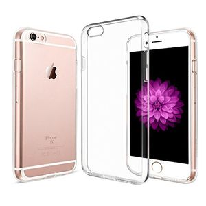handyhülle iphone 6 6s amonke iphone 6 6s hülle silikon transparent ultra dünn crystal clear iphone 6 6s schutzhülle durchsichtig backcover tpu case