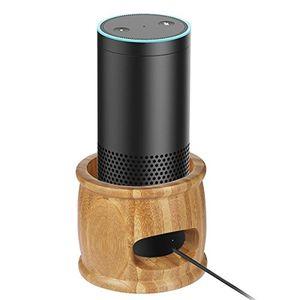 Top freesoo lautsprecherständer ständer wandhalterung 2 in 1 für amazon echo alexa sprecher bambus