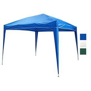photos of Faltpavillon 3x3 M Wasserabweisend Partyzelt Pavillon Blau Festzelt Gartenzelt TYP FGZ 033 Vatertag  Kaufen   model Lawn & Patio