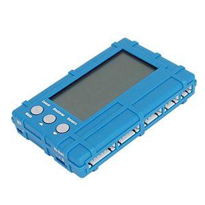 Buy 3 in 1 batteriespannung balancer meter disch lcd display