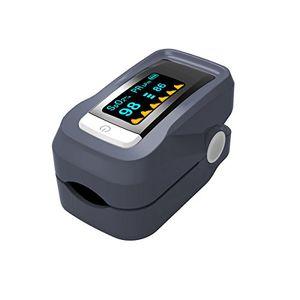 ofertas para - cusfull pulsioxímetro de dedo y monitor de frecuencia cardíaca con pantalla led pulsioxímetro oxígeno en sangre para adultos y niños (baterías no incluídas)