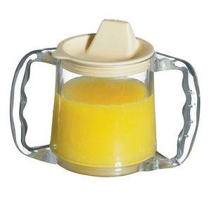 Calientes NRS Healthcare - Vaso con doble asa y tapa con boquilla guía del comprador