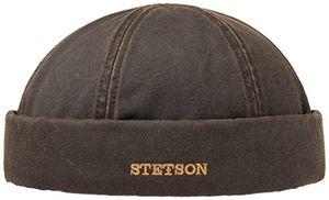Buy stetson old cotton winter dockermütze dockercap mütze mit fleecefutter wintermütze mütze wintermütze m56 57 braun