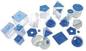 Review for eduplay 120069 geometrische körper klein transparent blau