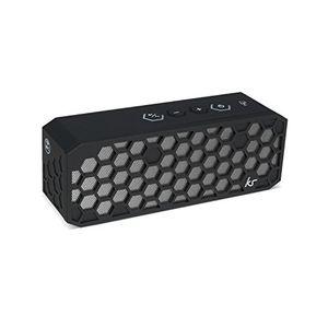 Angebote für -kitsound kshv2pbk kitsound hive 2 robuster tragbarer bluetooth lautsprecher mit siri und google now technologie nfc und 35mm audioeingang schwarz schwarz