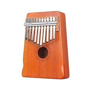 Angebote für -amosic kalimba lamellophone 10 schlüssel daumenklavier spielzeug afrikanischen musikinstrument mit stimmwerkzeug und notenschrift