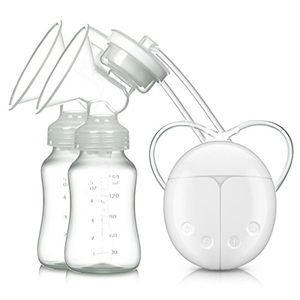 Barato Sacaleches, Extractor de Leche Eléctrico VOSMEP Mute Conversión de Frecuencia Bilateral Carga USB BPA-Free & 100% Grado de Comida para Pecho Doble Modo de Masaje y Prolactina SH043 ofertas de hoy