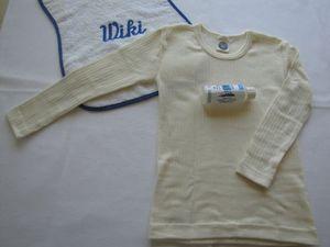 cosilana kinderunterhemd langarm seidewolle baumwolle mit feinwaschmittel von wiki naturwaren 176 natur 01