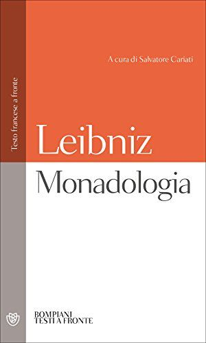 Cheap monadologia testo francese a fronte