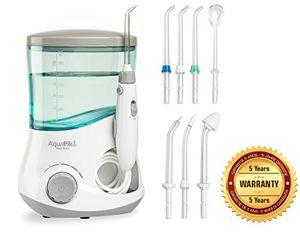 ofertas para - aquapik 100 irrigador dental y nasal único en el mundo incluye 7 boquillas recomendado por dentistas y médicos de todo el mundo