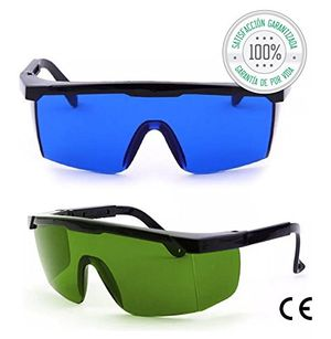 Calientes Tillmann's® Gafas Depilacion Laser 2 Unidades – Gafas Protectoras Depilacion IPL / HPL / Luz Pulsada Hot oferta