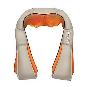 Elevavie Masajeador de Cuello y Hombros Shiatsu Masajeador Cervical con 4D Rotación y Función de Calor Infrarrojo para Relajación de Fatiga en Casa, Oficina o Coche (Intensidad ajustable) Hot oferta