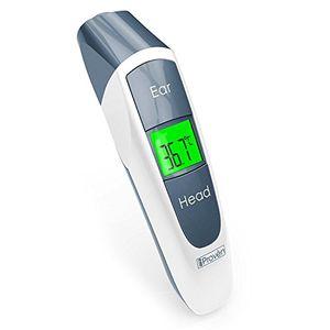 Termómetro Digital de Oído con Función para Frente – Algoritmo Mejorado para Mayor Precisión- Aprobado por CE y FDA – Nuevo Diseño iProven DMT-316 – Conveniente para Todas las Edades Hot oferta