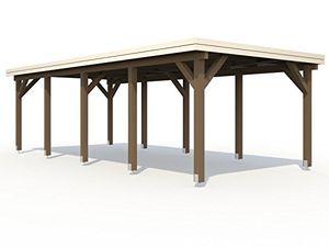 Cheap palmako carport einzelcarport karl 231 natur