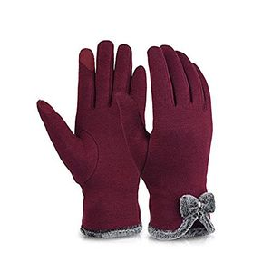 deals for - winter warme handschuhe damen touchscreen handschuhe winter dicke warme handschuhe fahrradhandschuhe motorradhandschuhe mountainbike trend handschuhe rot
