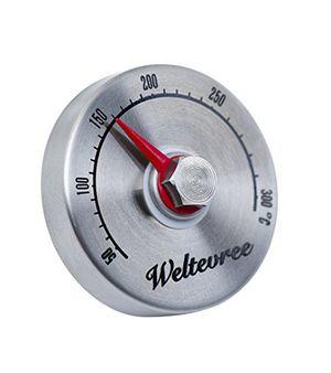 weltevree garraum thermometer für outdooroven design grill