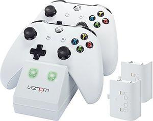 Cheap venom twin docking station inkl 2 zusatzakkus für xbox one one s weiß perfekt für die weiße xbox one s xbox one konsole