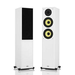 Angebote für -1 stück standlautsprecher mohr sl20 lautsprecherboxen weiss wavecor hochtöner kevlar tieftöner hifi standboxen