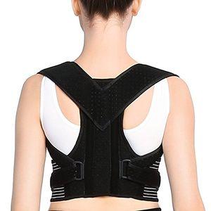 Hot Doact Corrector de Postura, el Apoyo a La Columna Vertebral Media y Baja - Cinturón Para Alivio del Dolor de Espalda, Para Mujeres y Hombres (L(35