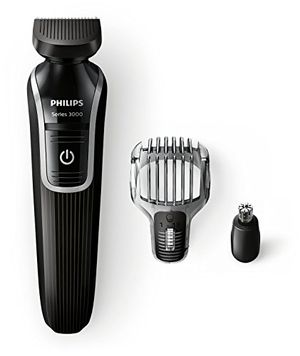 Philips QG3320/15 - Recortador de barba y precisión 3 en 1, color negro Mejor compra
