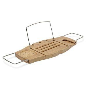 ofertas para - umbra 020390 390 aquala bandeja para bañera caddy natural