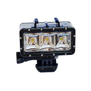 deals for - suptig led licht für gopro hero5 5s 44s 3 3 2 und sjcam sj4000 sj5000 sj6000 sj7000 xiaoyi leistungsstark dimmbar wasserfest für videos bei nacht und unter wasser