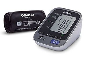 OMRON M7 Intelli IT - Tensiómetro de brazo, Bluetooth, aplicación OMRON Connect para móviles, tecnología Intelli Wrap Cuff ofertas de hoy