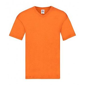 Angebote für -fruit of the loom original original v ausschnitt t shirt l orange
