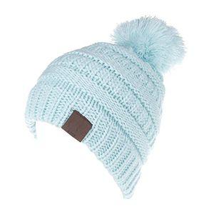 deals for - mioim baby strickmützen gestrickt warme winter mütze hut beanie kleinkind kinder cap hüte für mädchen jungen