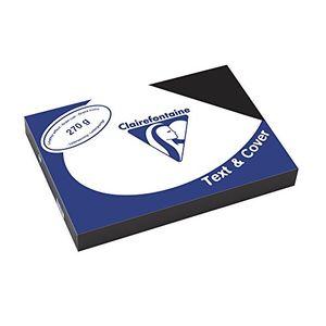 Angebote für -clairefontaine einbanddeckel text cover2710c schwarz inh100