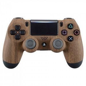 controller monkeys ps4 oberschale für jdm 040 041 030 050 055 controller soft touch design wooden grain