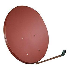 Top sat spiegel 100 cm stahl opticum lh 100 antenne hdtv 3 farben wählbar