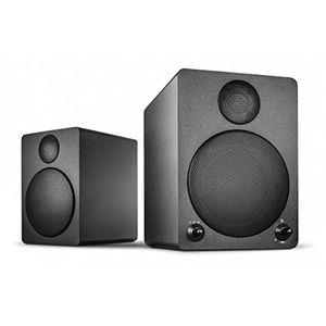 Angebote für -wavemaster cube black regal lautsprecher system 50 watt mit bluetooth streaming aktiv boxen nutzung für tvtabletsmartphone schwarz 66320