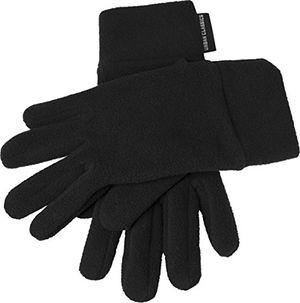 Hot urban classics unisex handschuhe polar fleece gloves schwarz 7 large herstellergröße lxl