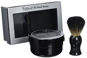 ofertas para - set de regalo crema de afeitar jermyn collection brocha de afeitar de tejón taylors of old bond street