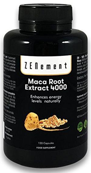 Cheap Maca Andina, altamente concentrado 4000mg, 120 cápsulas, mejora los niveles de energía, resistencia, rendimiento atlético, memoria, libido, sistema inmunológico y desequilibrio hormonal | 100% Natural, Vegano, No GMO, Sin Gluten Guía