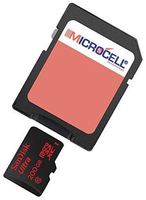 yayago microcell sd 200gb speicherkarte 200 gb micro sd karte für sony xperia xa ultra