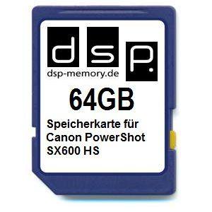 photos of DSP Memory Z 4051557425217 64GB Speicherkarte Für Canon PowerShot SX600 HS Best Buy Kaufen   model Computer & Zubehör