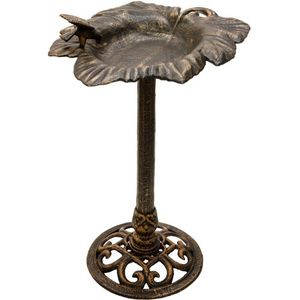 photos of Dekorative Vogeltränke Aus Massivem Gusseisen, Farbe Bronze, Höhe 80cm, Gewicht 11kg, Durchmesser 48cm Hot Angebot Kaufen   model Lawn & Patio