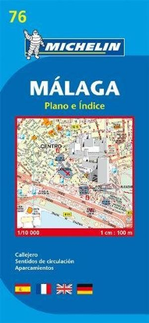 Review for malaga michelin city plan city plans planos michelin