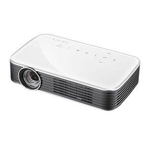 Angebote für -vivitek qumi q8 kompakter full hd projektor im taschenformat led 1000 lumen wireless 1920x1080 pixel 4gb interner speicher hdmi und usb eingang weiß