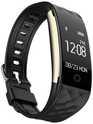 deals for - efoshm s2 smart armband sport fitness tracker herzfrequenz sleep qualität monitor callsms reminder wasserdicht ip67 für android iosschwarz